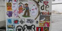Sticker Bombing 20