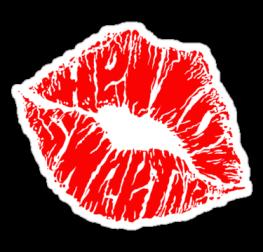 Стикер губы
