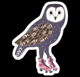 стикер сова