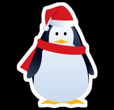 1276 Новогодний пингвин