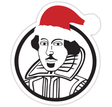 1291 Shakespeare Santa Hat