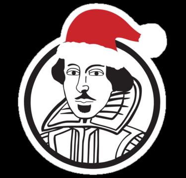 1291 Shakespeare Santa Hat
