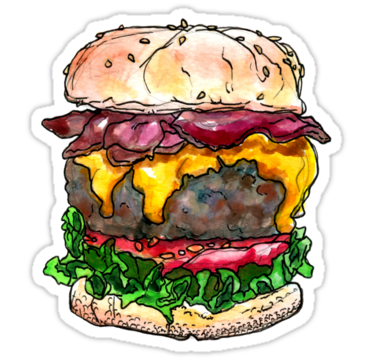 1375 bacon cheeseburger