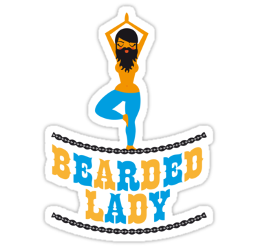 1381 Bearded Lady