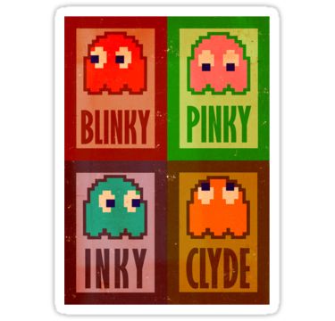 1394 Blinky, Inky, Pinky and Clyde