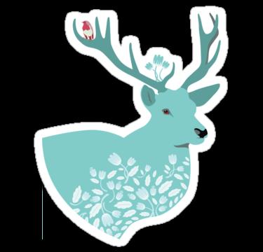1396 Blue Deer