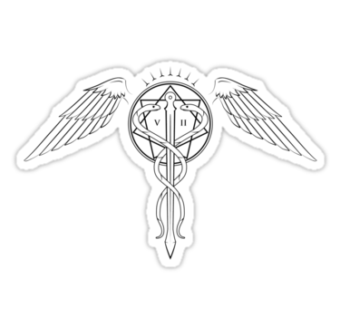 1411 Caduceus Tattoo