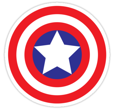 1414 Captain America Shield