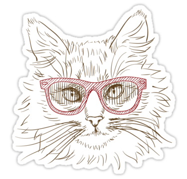 1417 Cat illustration