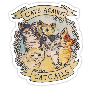 1422 Cats Against Catcalls
