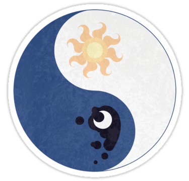 1423 Celestia and Luna Yin Yang