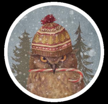 1429 Christmas Owl