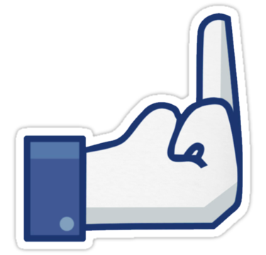 1484 Facebook Finger