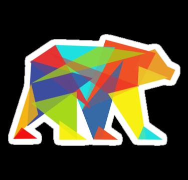 1502 Fractal Geometric Bear