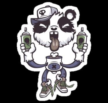 1523 Graffiti Panda