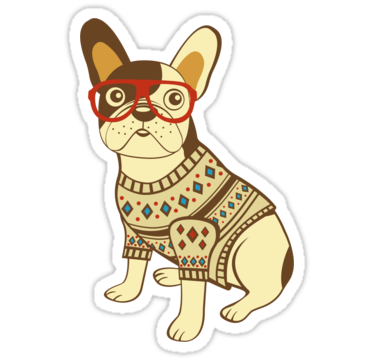 1535 Hipster Dog
