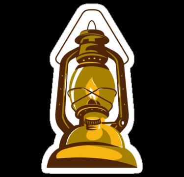 1576 kerosene oil lamp retro