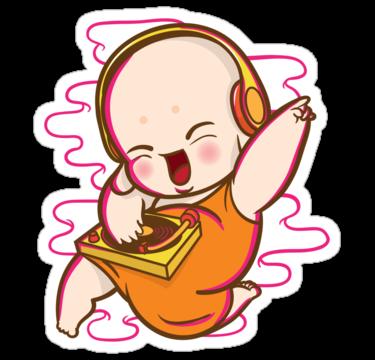 1595 Little monk DJ