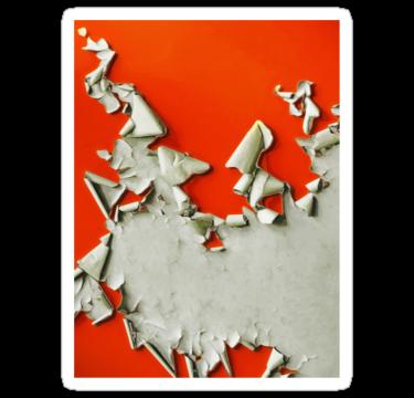 1659 Orange Paper Peel