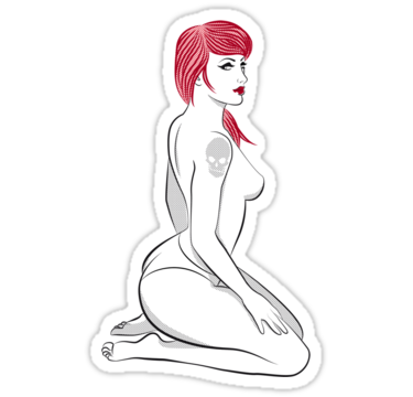 1702 Red Girl V.6