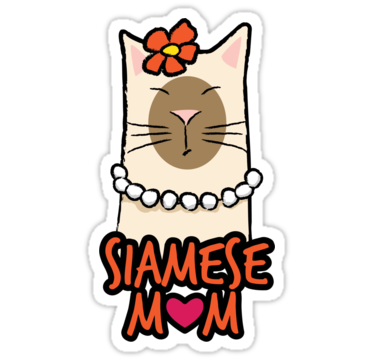 1727 Siamese Mom