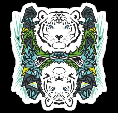 1787 Tigers - Blue