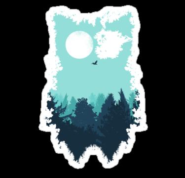1823 Winter Owl