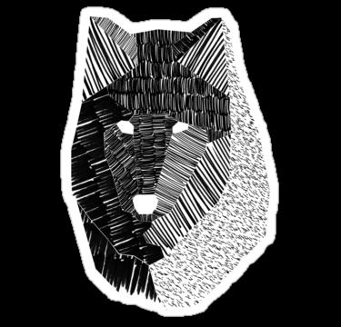 1825 Wolf Mask