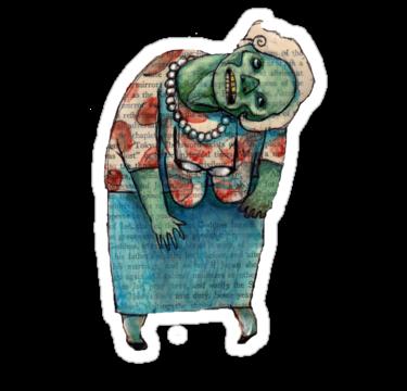 1834 zombie senior