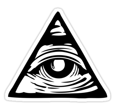 1845 All seeing eye