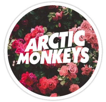 1848 Arctic Monkeys Floral Logo