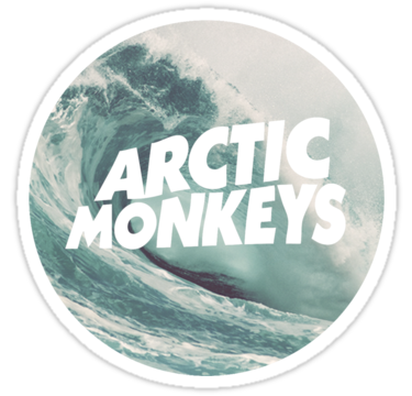 1852 Arctic Monkeys wave logo