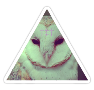 1858 Barn Owl triangle