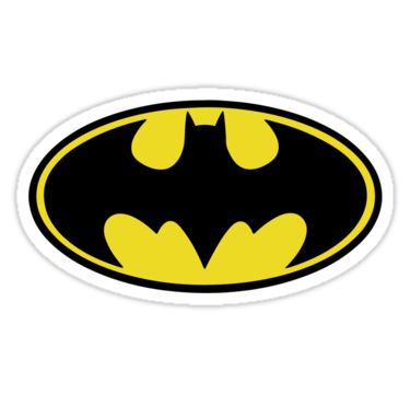 1859 Batman - Logo (Black)
