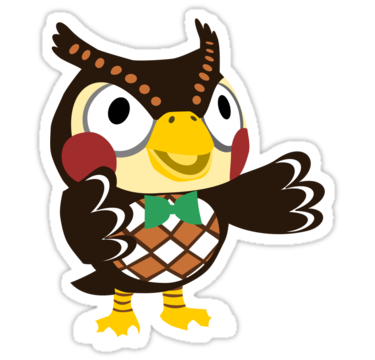 1865 Blathers - Animal Crossing