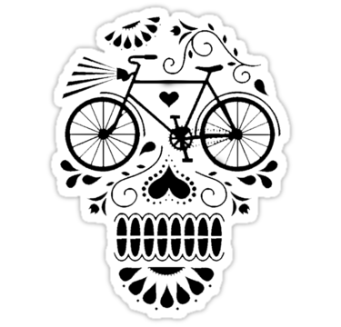 1901 Day Of The Dead Bike
