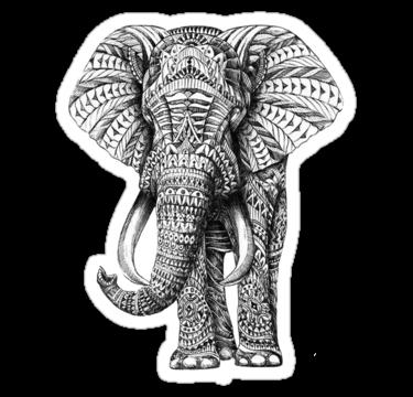 1917 Ethnic Elephant