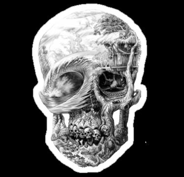 1922 Fantasy Skull