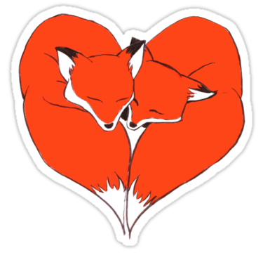 1931 Foxes Mate for Life