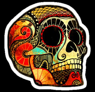 1945 Grunge Skull