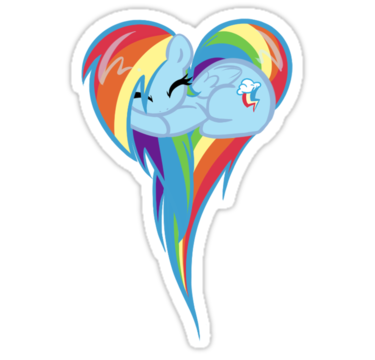 1953 Heart Of Rainbow Dash