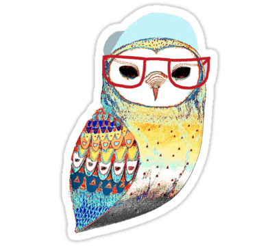 1961 Hipster Owl