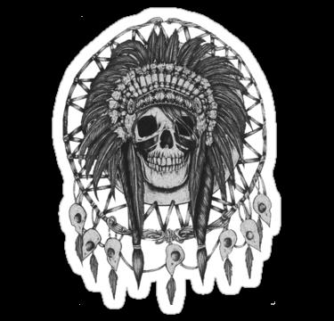 1966 Indian skull