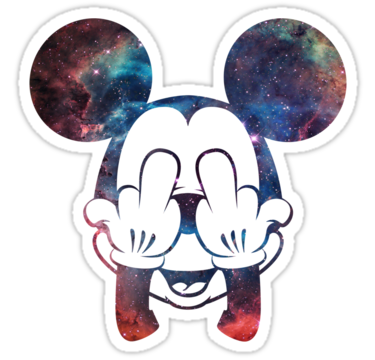 1994 Mickey Nebula Head