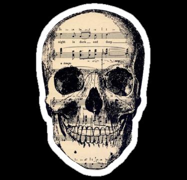 1995 Music Skull