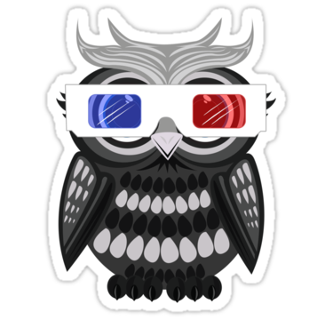 2004 Owl - 3D Glasses