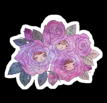 2032 Rose Buds (Pastel)