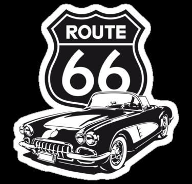 2035 Route 66 - 1960 Corvette