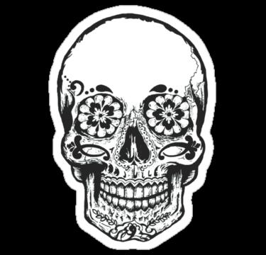 2038 SALE - Floral Skull