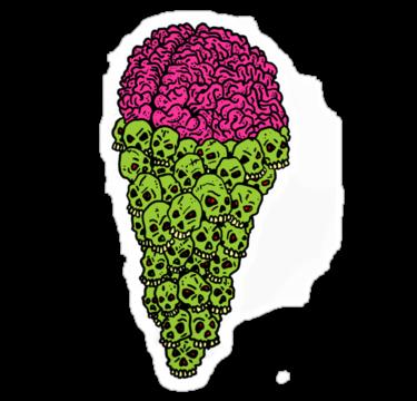 2051 Skull Scream Cone